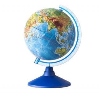 Глобус Земли физический рельефный 320 серия Евро Globen