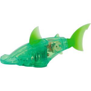 Микроробот  Светящаяся рыбка Hexbug. Цвет: зеленый