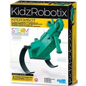 Набор для робототехники  KidxRobotix Крейзибот 4M. Цвет: разноцветный