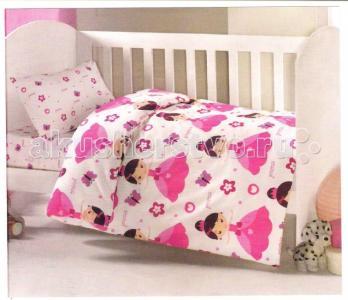 Комплект в кроватку  Принцесса (6 предмета) Ups Pups