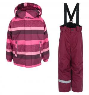 Комплект куртка/брюки , цвет: красный Lassie