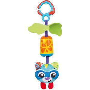 Игрушка-подвеска  Енот Playgro. Цвет: разноцветный