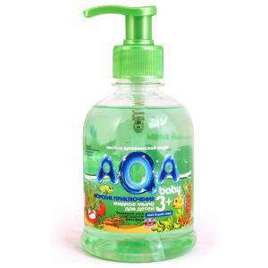 Жидкое мыло  Морские приключения, с рождения, 300 мл AQA baby