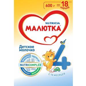 Молочная смесь  4 с 18 месяцев, 600 г Малютка