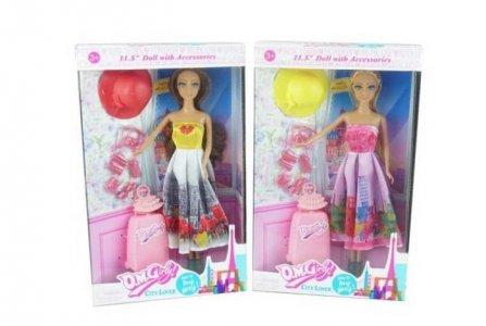Кукла с аксессуарами Путешественница 11501 Junfa