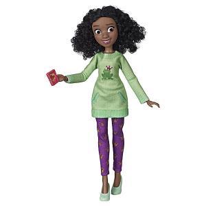 Кукла Disney Princess Comfy Squad Тиана Hasbro. Цвет: сине-жёлтый