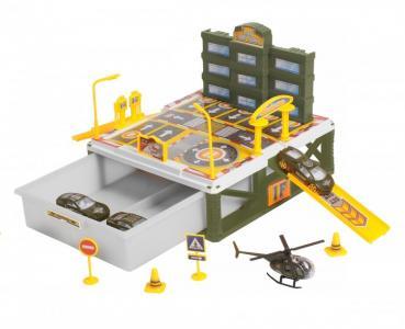 Паркинг 2-уровневый Военная часть (27 деталей) BeBoy