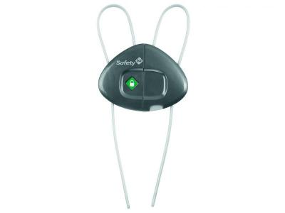 Блокирующее устройство , верт. д/распашных дверей серый Safety1st