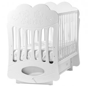 Детская кроватка  Baby sleep маятник поперечный Кубаньлесстрой