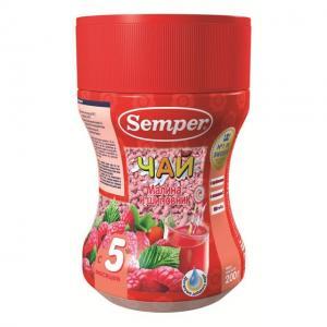 Чай  малина-шиповник, 200 г Semper