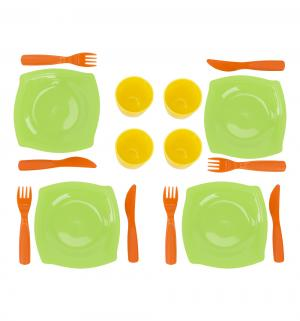 Набор детской посуды  на 4 персоны Wader