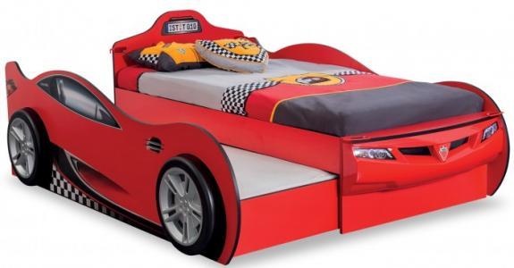 Подростковая кровать  двухместная Машина Racecup Cilek