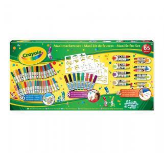 Фломастеры  Гигантский набор 65 цветов Crayola
