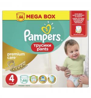 Трусики  Premium Care Pants Maxi (8-14 кг) 66 шт. Pampers