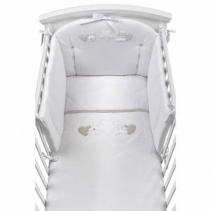 Комплект в кроватку  Nanny (4 предмета) Picci