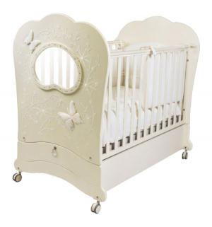 Кровать  Fms Oblo Charme Brillante, цвет: avorio/ivory Feretti