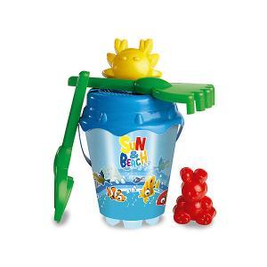 Набор игрушек для песочницы  Солнечный берег Unice. Цвет: синий
