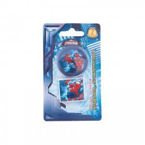 Набор канцелярии  Человек-паук, точилка и ластик Kinderline