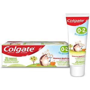 Детская зубная паста  без фтора, 0-2 лет, 40 мл Colgate