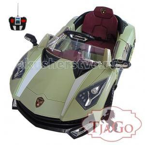 Электромобиль  Lamborghini (надувные колеса) TjaGo