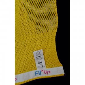 Слинг-шарф из хлопка плетеный размер l-xl, Филап, , желтый Filt