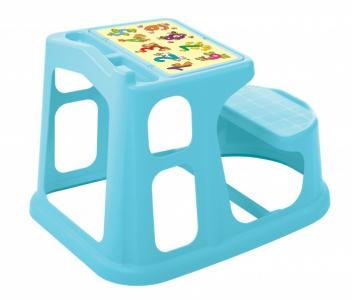 Стол-парта детская с аппликацией 730х550х500 мм Пластишка