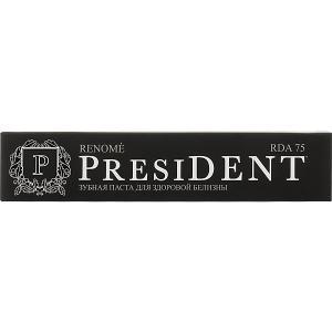 Зубная паста President Renome для мягкого отбеливания, 75 мл