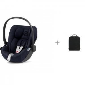 Автокресло  Cloud Z i-size Plus + защитный коврик на спинку сидений Cybex