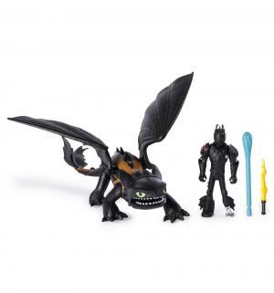 Игровой набор  Беззубик и Икинг 17 см Dragons