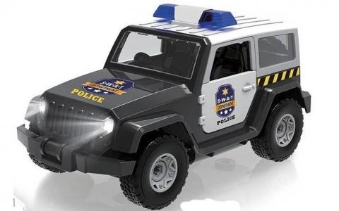 Внедорожник конструктор Транспортная серия Полиция Play Smart