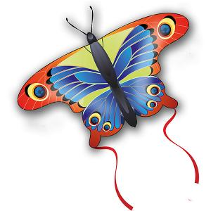 Воздушные мини-змеи  Pop-Up Бабочка, 57х30 см Eolo Sport. Цвет: разноцветный
