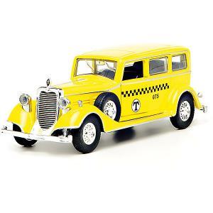 Коллекционная машина Технопарк Ретро (желтая) Toystate
