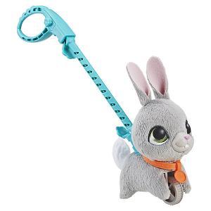 Мягкая игрушка FurReal Friends Маленький питомец на поводке Кролик Hasbro