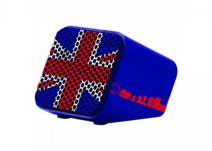 Колонка беспроводная мини Флаг Великобритании Lexibook