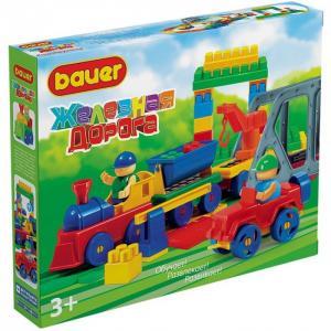 Конструктор  Железная дорога (119 элементов) Bauer