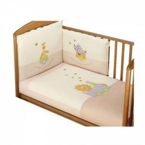 Комплект в кроватку  Safari (6 предметов) Feretti