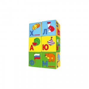 Кубики Азбука в картинках, Мякиши