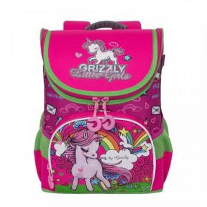 Рюкзак школьный RA-981-2 Grizzly