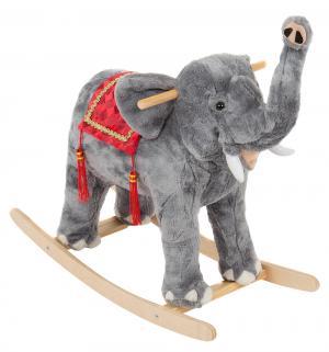 Качалка  Слон, цвет: серый Тутси