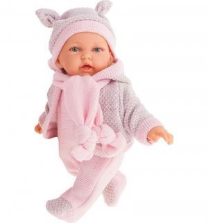 Кукла  Ромина в розовом 27 см Juan Antonio