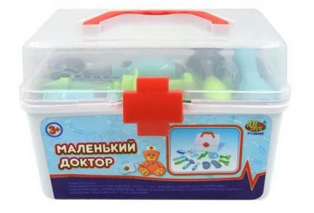 Набор Маленький доктор в чемоданчике (13 предметов) ABtoys