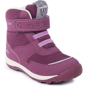 Ботинки Hamar KDs GTX Viking для девочки. Цвет: бордовый