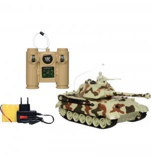 Радиоуправляемый танк  King Tiger 1:28 Пламенный мотор