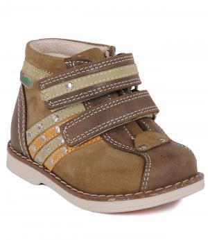 Ботинки Orsetto. Цвет: коричневый