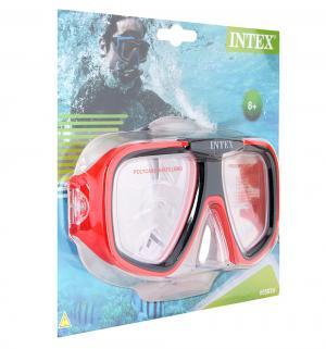 Маска для плавания  Reef Rider красная Intex