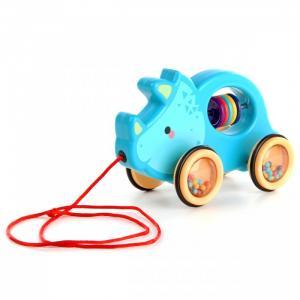 Каталка-игрушка  на веревочке Носорог Ути Пути