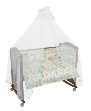 Комплект постельного белья  Топтыжки, цвет: салатовый Сонный гномик