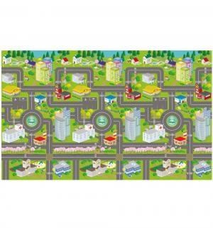 Коврик  Карта города 120 х 200 см Яигрушка