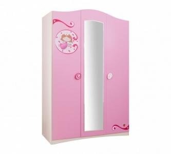 Шкаф  трехстворчатый SL Princess Cilek