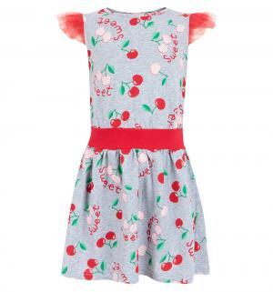 Платье , цвет: серый/красный M&D